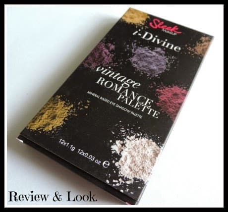 Sleek Vintage Romance Eyeshadow Palette