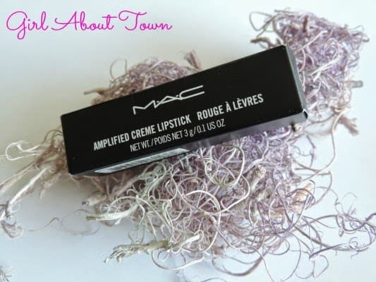 M.A.C. Girl About Town Lipstick