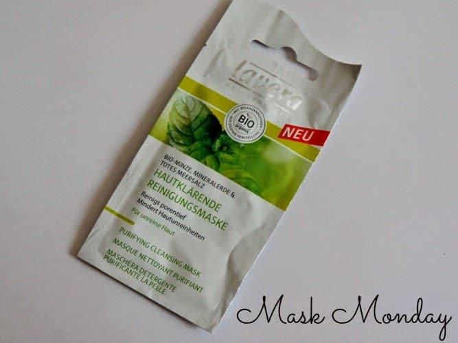 Mask Monday: Lavera Purifying Cleansing Mask Mint
