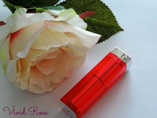 Maybelline Color Sensational Vivids Lipstick – Vivid Rose