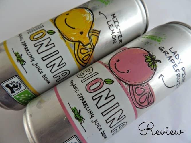 Bionina Organic Sparkling Juice Drink