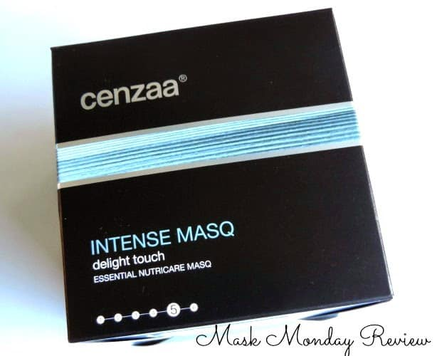 Mask Monday: Cenzaa Intense Masq Delight Touch