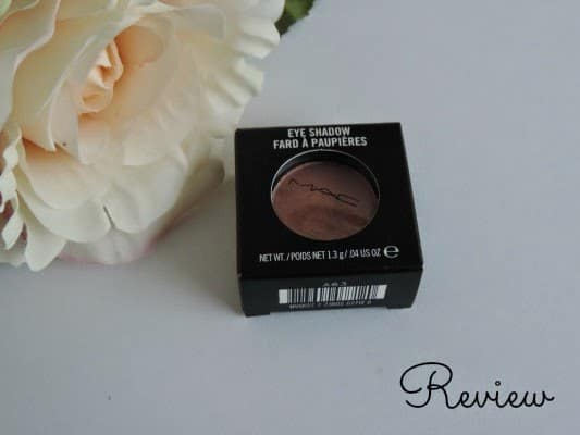 M.A.C. Expensive Pink eyeshadow