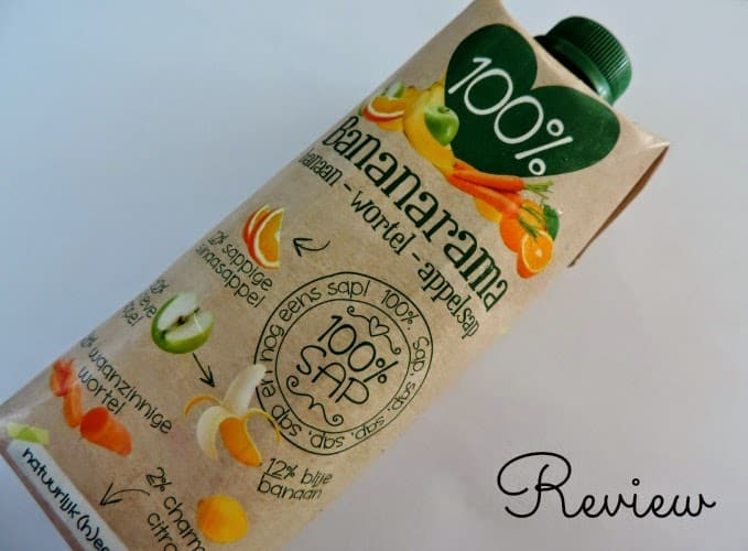 100% Bananarama banaan-wortel-appelsap