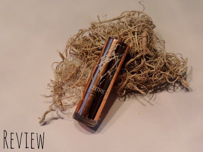 Review: Catrice Metallure C02 Alluring Pink Lipstick