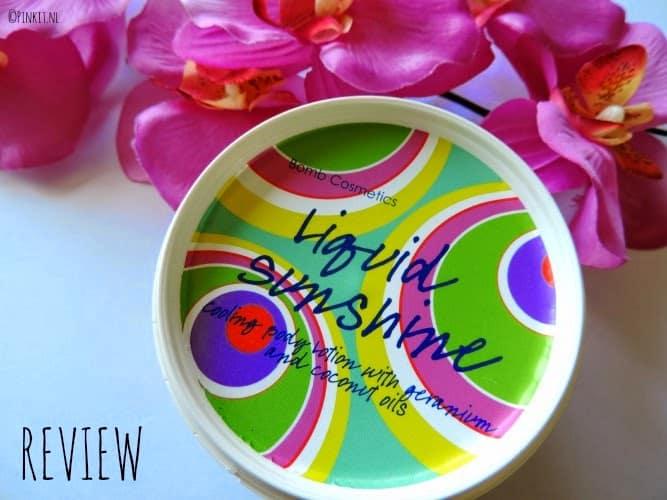 REVIEW: Bomb Cosmetics Liquid Sunshine Cooling Body Lotion