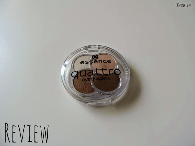 REVIEW: Essence Quattro Eyeshadow 05 To Die For