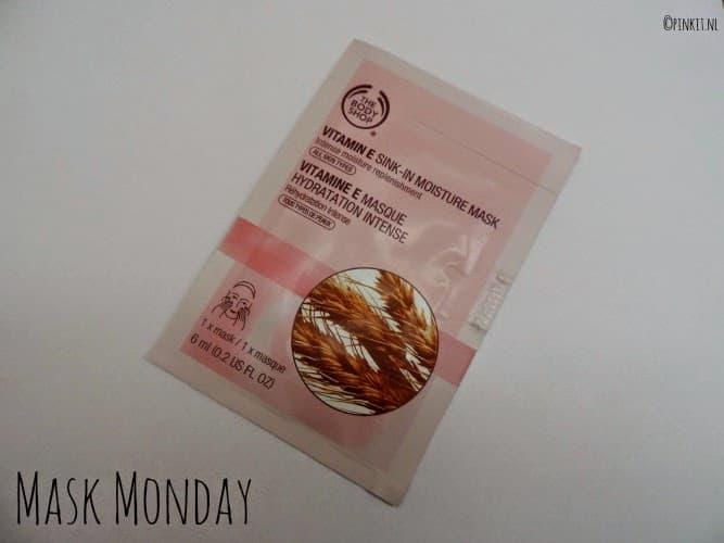 MASK MONDAY: Vitamin E Sink In Moisture Mask van The Body Shop