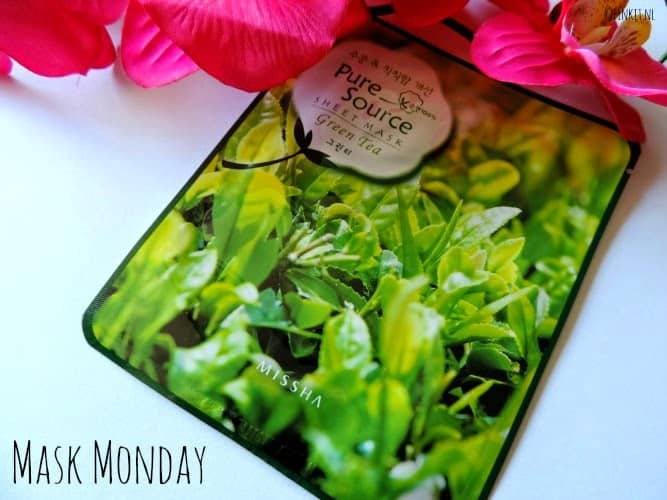 Mask Monday: Missha Pure Source Sheetmask Green Tea