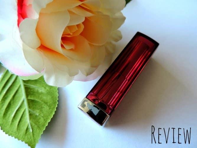REVIEW: Maybelline Jade Color Sensational Lipstick 180 Crazy Pink