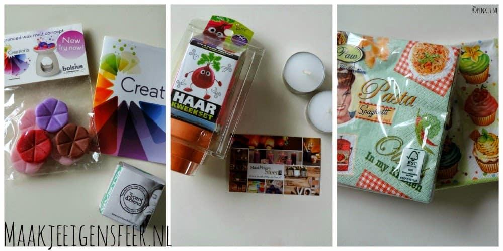 LIFESTYLE: Unboxing pakketje van Maakjeeigensfeer.nl