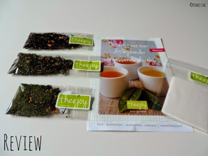 FOOD: Vier verschillende soorten thee van Theejoy.nl