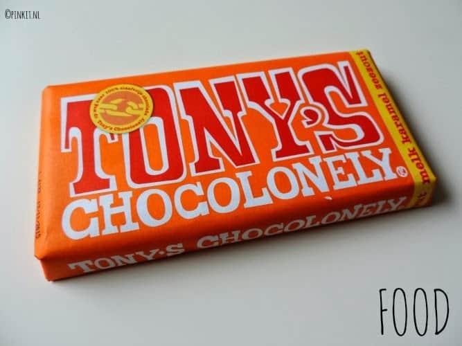 FOOD: Tony's Chocolonely met melk karamel en zeezout