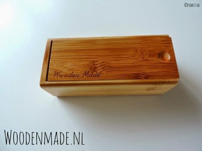 FASHION: Houten zonnebril van Woodenmade.nl