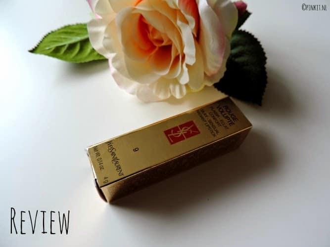 REVIEW: Yves Saint Laurent Rouge Volupte 09 Rose Caresse