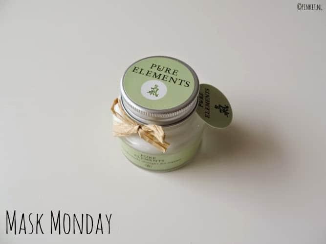 MASK MONDAY:  Pure Elements Gezichtsmasker met arganolie
