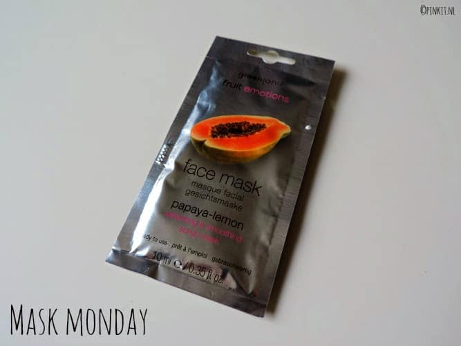 MASK MONDAY: Greenland Fruit Emotions Face Mask Papaya-Lemon