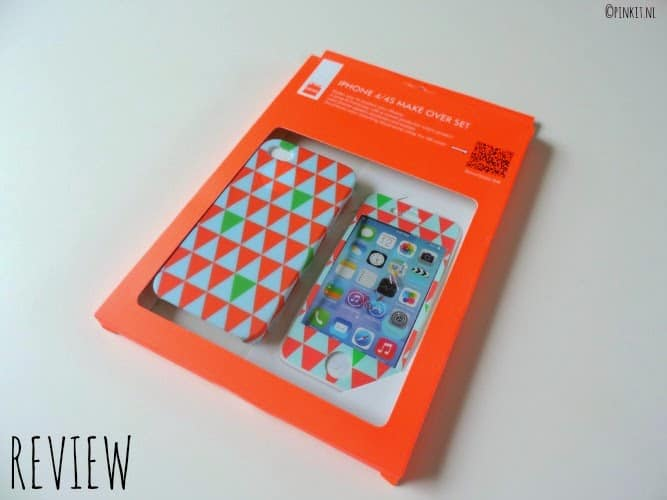 REVIEW: HEMA Iphone 4/4S Make Over Set