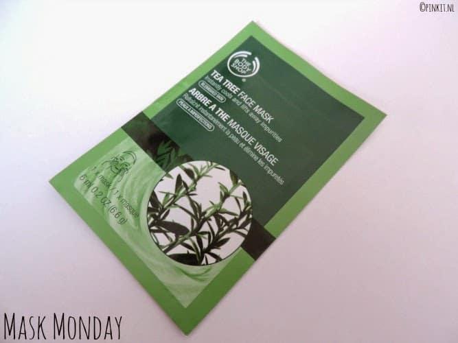 MASK MONDAY: The Body Shop Tea Tree Face Mask