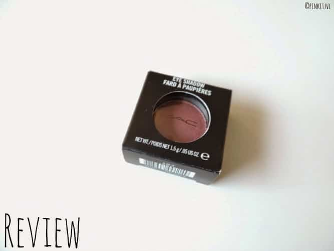 REVIEW: MAC EYESHADOW CRANBERRY