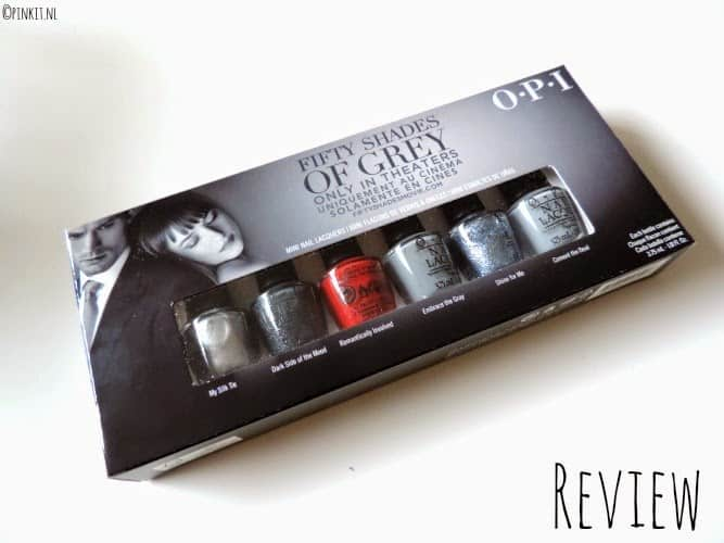 REVIEW SWATCHES: OPI FIFTY SHADES OF GREY LIMITED EDITION