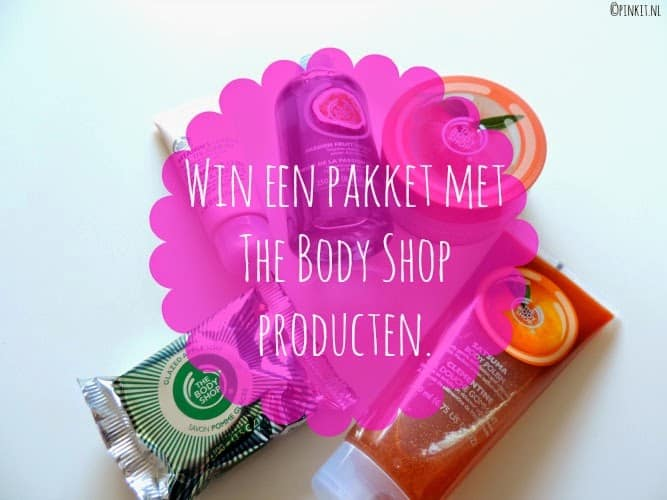 WIN ACTIE: EEN PAKKET MET THE BODY SHOP PRODUCTEN