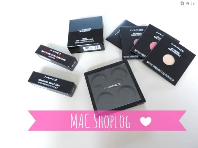 BEAUTY: MAC SHOPLOG
