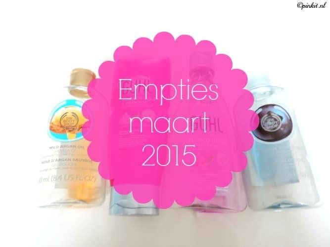 EMPTIES MAART 2015