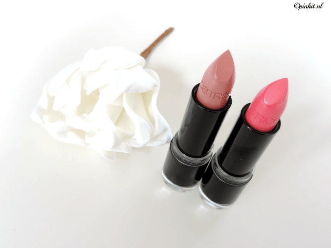 CATRICE ULTIMATE COLOUR LIPSTICK HEY NUDE & ON THE PINK SIDE OF LIFE