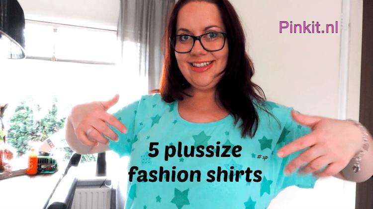 5 PLUSSIZE FASHION SHIRTS