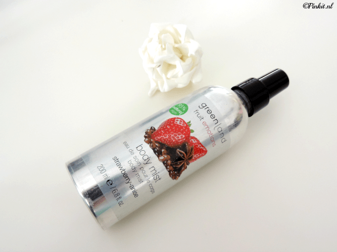 GREENLAND BODY MIST STRAWBERRY ANISE