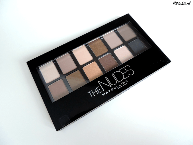 REVIEW| MAYBELLINE THE NUDES PALETTE