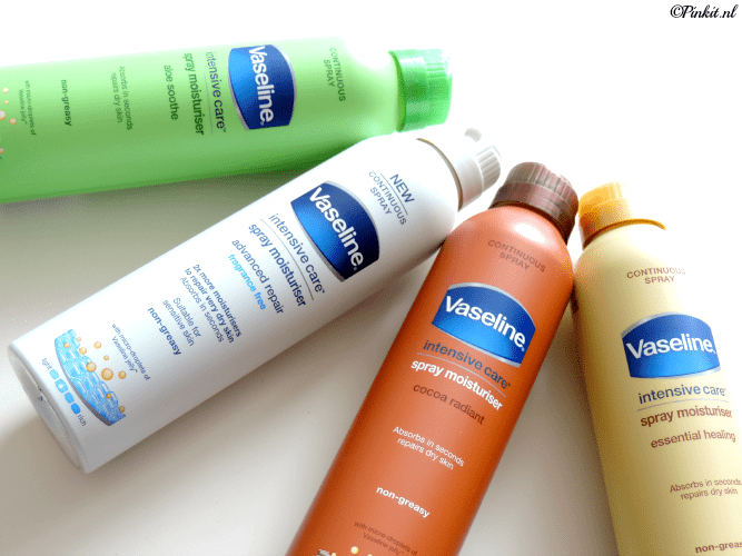 REVIEW| VASELINE SPRAY MOISTURISER