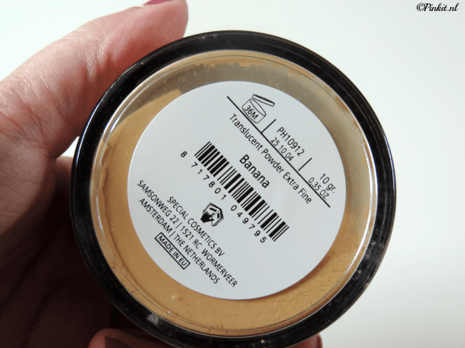 how to make banana powder for makeup