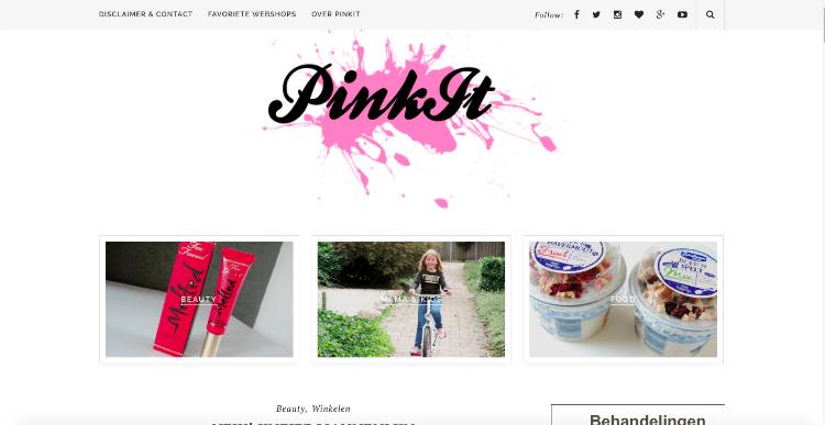 UPDATE| NIEUWE LAYOUT PINKIT.NL