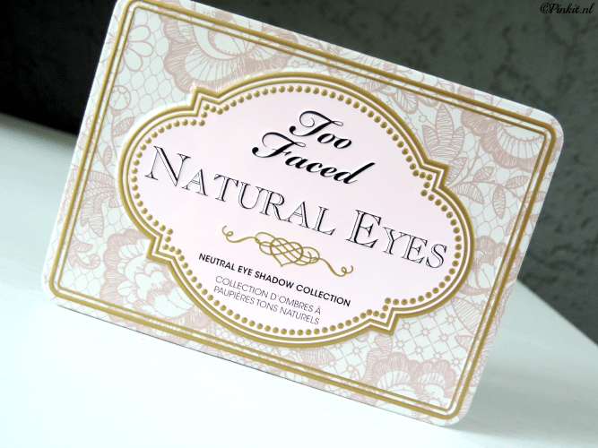 REVIEW| TOO FACED NATURAL EYES PALETTE