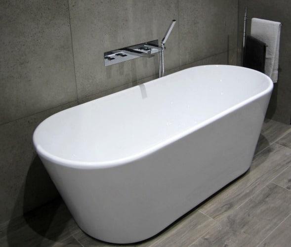 Lifestyle nieuwe badkamer - Badkamer exotisch hout ...