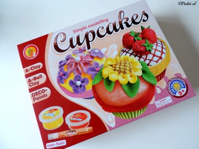 KIDS| CUPCAKES MAKEN VAN KLEI