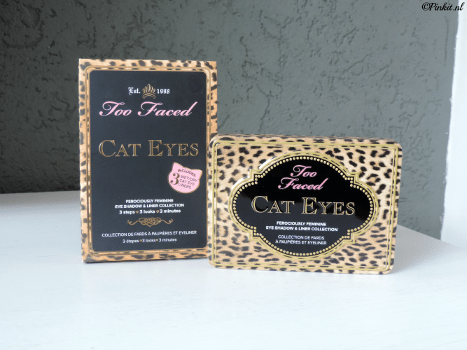 REVIEW| TOO FACED CAT EYES PALETTE