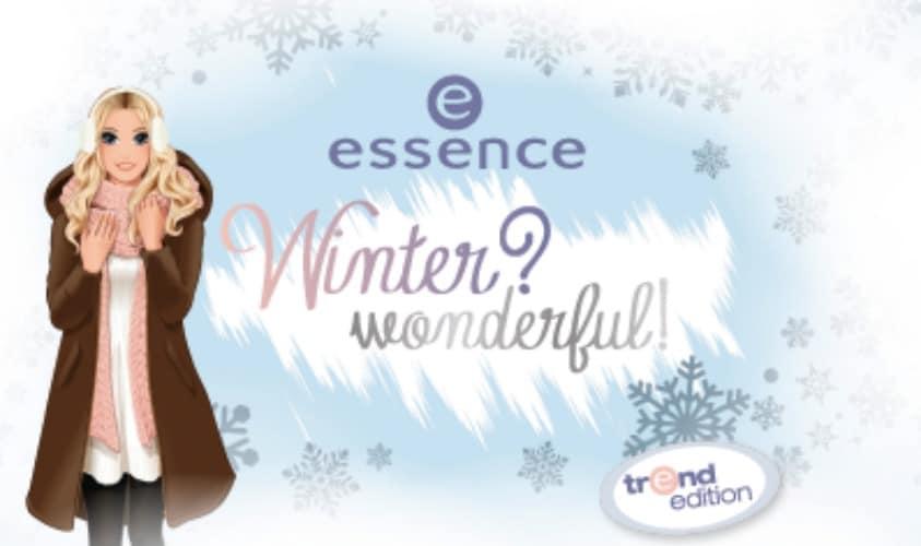 PERSBERICHT| ESSENCE WINTER? WUNDERFUL! TREND EDITION