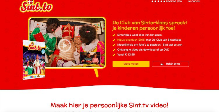 WIN :  SINT.TV & DE CLUB VAN SINTERKLAAS