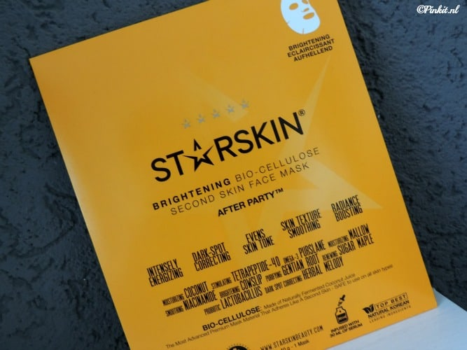 MASK MONDAY | STARSKIN BRIGHTENING FACE MASK AFTER PARTY