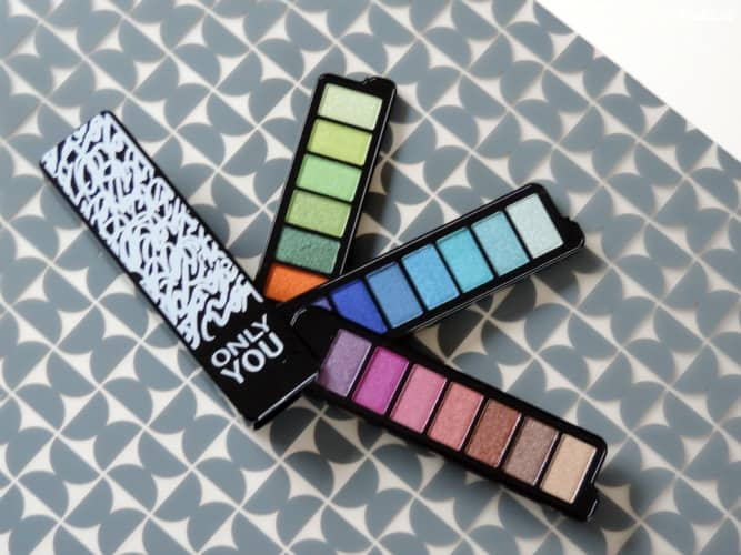 REVIEW  ONLY YOU LIMITED EDITION EYESHADOW PALETTE