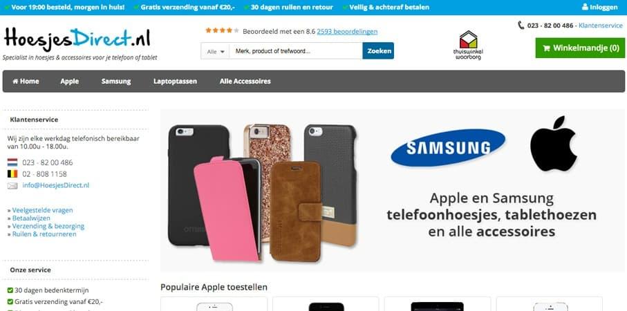 GADGETS| TELEFOONHOESJES VAN HOESJESDIRECT.NL