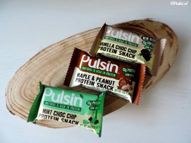 FOOD| PULSIN 100% NATUURLIJKE PROTEÏNEREPEN
