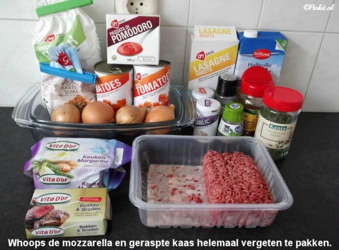 Foto 2 lasagne recept