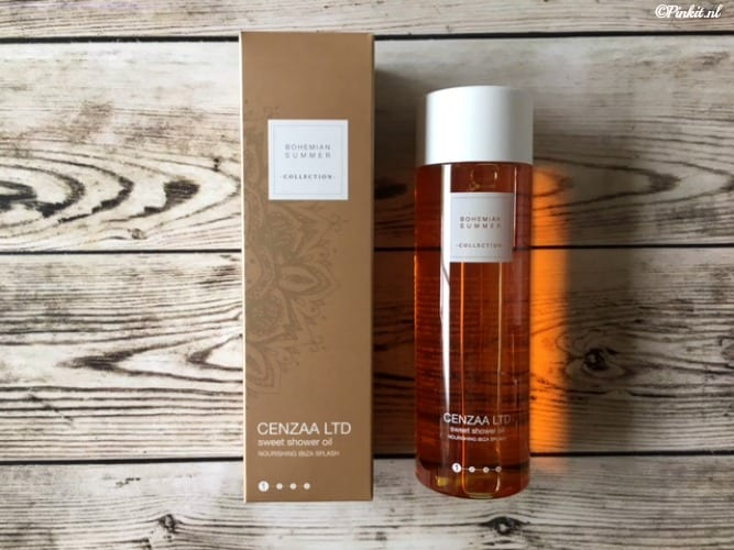 BEAUTY | CENZAA BOHEMIAN SUMMER SWEET SHOWER OIL