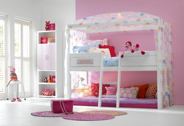 Inspiratie scandinavische stijl kinderkamer - Meisjes slaapkamer stijl ...