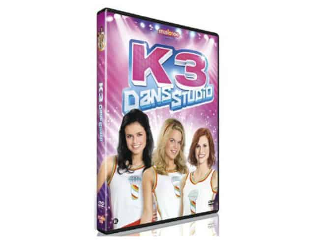 KIDS | DVD K3 DANS STUDIO +  3 X WIN