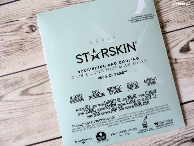 MASK MONDAY | STARSKIN NOURISHING AND COOLING FOOT MASK
